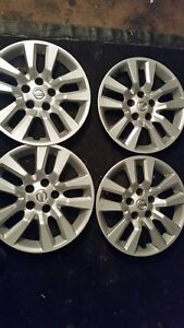 Four 16 Oem Nissan Altima 2013 2017 Hub Caps Wheel Covers Rim Covers 53088