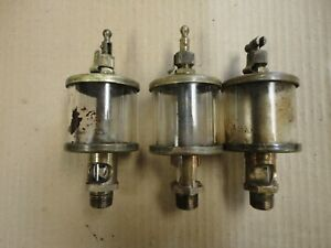 Michagan Lubricator Co x12a2 Brass Oiler Used Condition