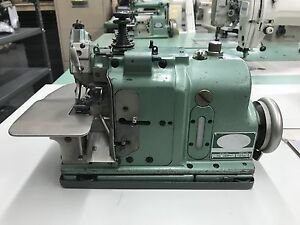 Merrow Mg 3dw 2 1 needle 2 pearl Stitch Industrial Sewing Machine the Head Only