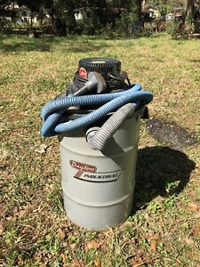 Dayton Industrial Wet Dry Vacuum Cleaner 3z708b W Dfs Double Filtration System