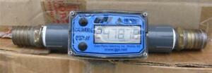 Gpi Flomec 3 4 Nptf Pvc Water Meter With Local Display 2 To 20 Gpm Tm075 n