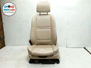 Bmw X5 E70 Left Front Driver Side Sport Seat Nevada Leather Beige W Headrest