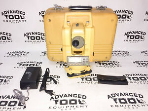 Topcon Gts 223 Total Station Dual Display Transit W Case Charger