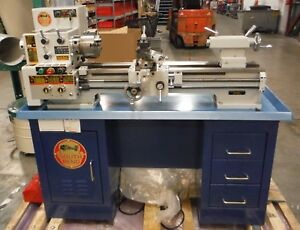 Sb1007 South Bend Heavy 10 10 X 30 Gearhead Lathe W 10k Lathe Stand As Is