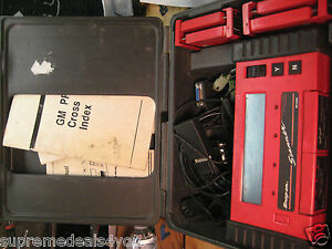 Snap On Tools Diagnostics Mt2500 Scanner W Box Cable And Cartridges