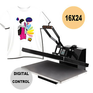 16x24 Clamshell T shirt Heat Press Machine Transfer Sublimation Heavy Duty