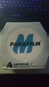 New Parafilm M Laboratory Wrapping Film 4in X 125ft 1 Roll cat pm 996