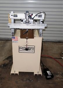 Ritter R131 Tripple Head Boring Machine 1 Centers Single Phase