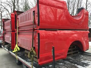 Brand New Take Off Bed 2017 2018 Ford F250 F350 Super Duty Red Aluminum 8 Long