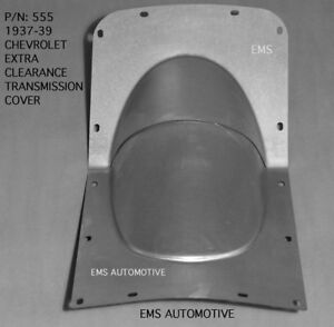 Chevrolet Chevy Car Enlarged Trans Cover Hump For Oem Floor 1937 1939 555 Ems