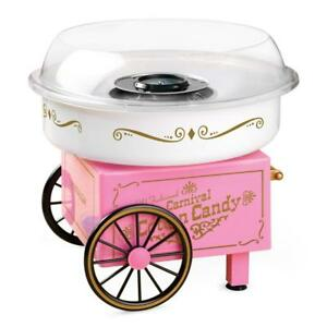 Nostalgia Countertop Vintage Collection Hard Sugar Free Cotton Candy Maker New