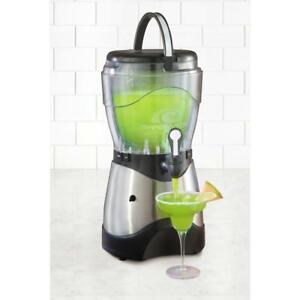 Nostalgia Electrics Stainless Steel 1 gallon Beverage Margarita Slush Machine