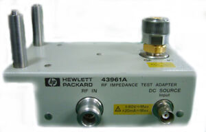 Agilent 43961a Impedance Test Kit Rf