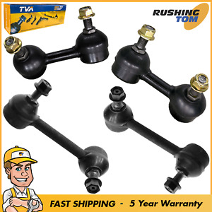 4pc Kit Front Rear Stabilizer Sway Bar End Link Kit For Acura Honda Accord