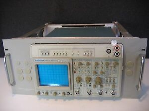 Tektronix 2465bdm 400mhz 4 Channel Oscilloscope Dmm W Options