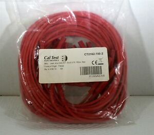 Caltest Ct2162 4mm Individual Straight Banana Plug plug Test Lead 18 Awg Red