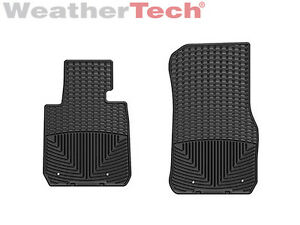 Weathertech All Weather Floor Mats For Bmw 2 Series 3 Series Gt 1st Row Black