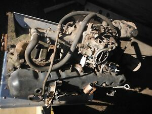Jeep Cj Amc 4 2 258 6 Cylinder Carburated Engine Core For Rebuild Will Ship