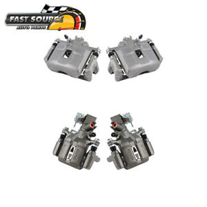 Front And Rear Oe Brake Calipers Pair Set 2002 2003 2004 2006 Acura Rsx Type S