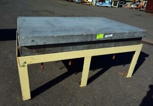 8 x72 Granite Table On Stand inv 38241