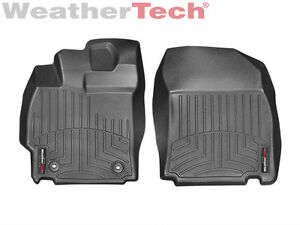 Weathertech Floor Mats Floorliner For Scion Tc 2014 2016 1st Row Black