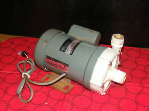 Iwaki Magnet Pump Md 70rlt s 115ul made In Japan untested see Discription