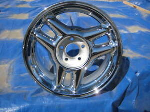 1 Single New 17 Factory Ford Mustang Cobra Oem Chrome Rim Wheel 1993 1996 3086