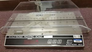 Scale tronix 4800 Pediatric Infant Kilos pounds Scale