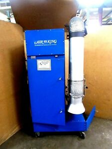 Air King M 35p Mobil Fume Collector 1050cfm 115 Volt 1ph With Arm Portable