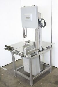 Hobart 5801 Commercial Butcher Market Beef Meat Band Saw Slicer 220v 3ph 6801