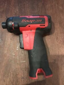 Snap On Cts725 1 4 7 2 V Red Cordless Screwdriver Used Nice Tool