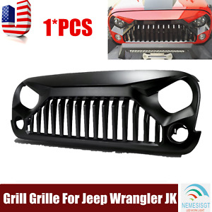Angry Bird Front Hood Grill Grille For 2007 18 Jeep Wrangler Jk Unlimited 2 4dr