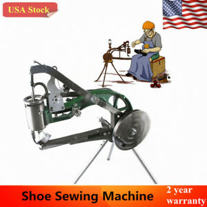 Manual Shoe Making Sewing Machine Shoes Leather Repairs Sewing Equipment Us Ship