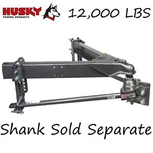 33092 Husky Towing Round Center Line Ts 12000lb Gtw Weight Distribution Hitch