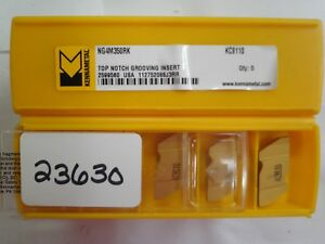 10 Pcs Ng4m350rk Kc9110 Kennametal Carbide Insert new Pic 23630