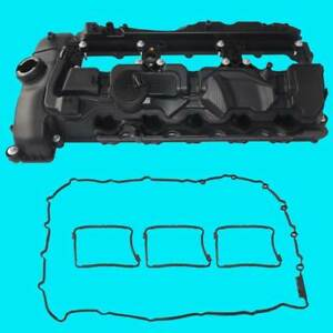 New Engine Valve Cover For2011 2014 Bmw 335i 535i 640i 740i X3 X5 X6 11127570292