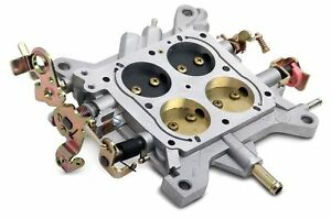 Holley 600 Cfm Double Pumper Complete Base Plate Assembly Square Bore
