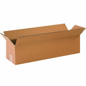 50 12 X 3 X 3 Cardboard Shipping Boxes Long Corrugated Cartons