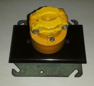 Male And Female Electrical Plug Industrial Lock Connector L5 20 r 20a 120 Volts4