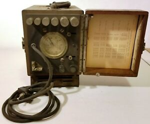 Vintage Mowbray Continuous Current Meter 350 115 230 V 1 100 Amp un tested