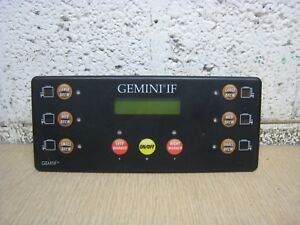 Wilbur Curtis Gemini If Gemtif Wc 723 G3 Twin Coffee Brewer Control Module Panel