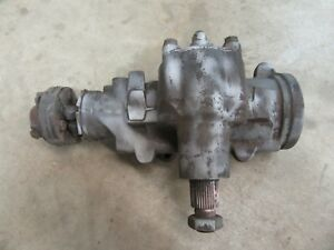 1968 Cadillac Sedan Deville Power Steering Gear Box Hot Rod Rat Rod Parts