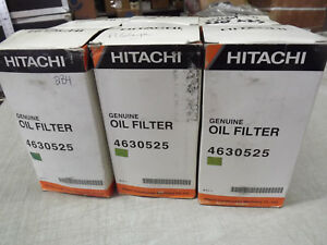 Hitachi 4630525 6x Oil Filter Same As Bt9440 For Hitachi John Deere Excavator