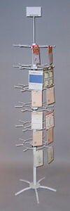 Jewelry Retail Display Rack 48 Prong Peg Spinner Large Made In Usa