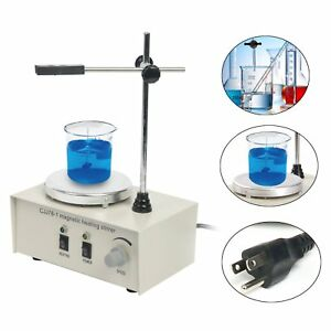 1000ml Hotplate Mixer Magnetic Stirrer With Heating Plate 78 1 110v 2400rpm min
