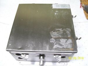 Hoffman 12x12x6 Stainless Steel Enclosure Junction Box A1212chnfss