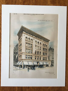 Store Shreve Crump Low Tremont West Sts Boston Ma 1890 Original