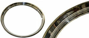 Beauty Ring 16 Outer Wheel Trim Ribbed Stainless