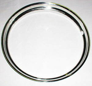 Beauty Ring 15 Outer Wheel Trim Ribbed Stainless