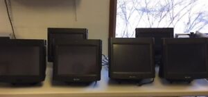 Par Everserv 6000 Pos System Of 6 Registers And 4 Monitors 4 Printers
